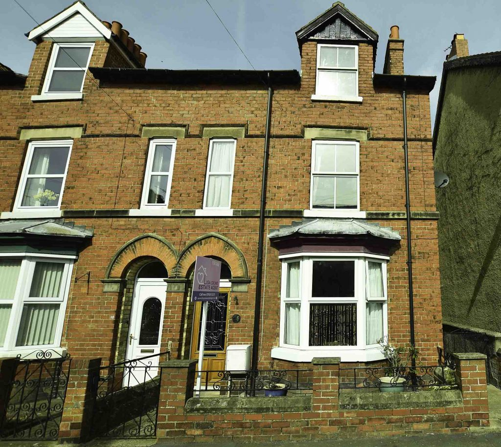 Five Bedroom Three Storey Victorian Property with 135ft rear Garden in Norton